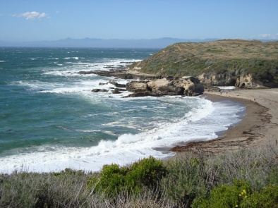 View of the Pacific Ocean, California Central Coast (c) Sherri Matthews 2013