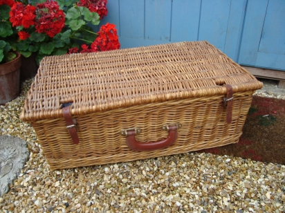 The Wicker Picner Hamper (c) copyright Sherri Matthews 2013