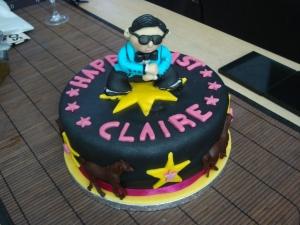 Amazing 'Gangnam Style' Birthday Cake! (c) copyright Sherri Matthews 2013
