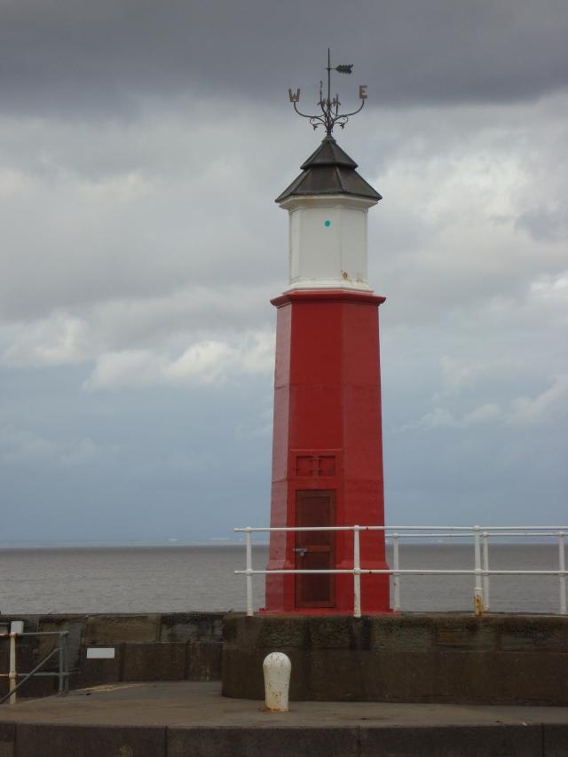 Lighthouse at Watchett Harbour, Somerset (c) copyright Sherri Matthews 2013