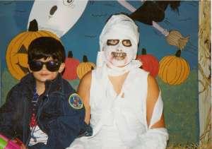 Mummy & Terminator 1992 (c) copyright Sherri Matthews 2013