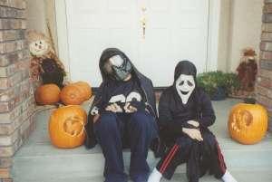 Getting ready for Halloween (c) Sherri Matthews