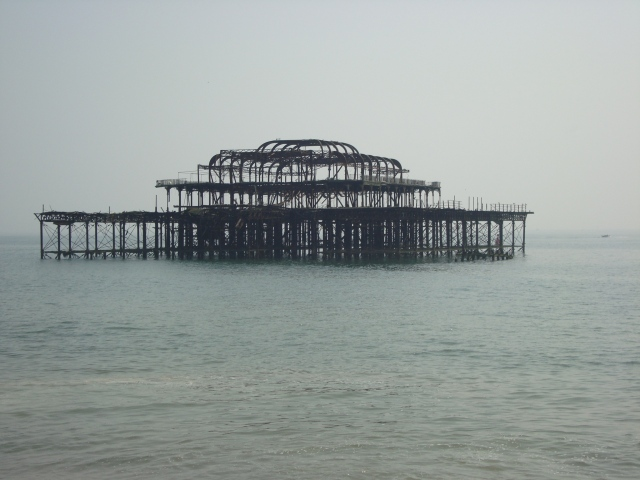 Shell of the West Pier in Brighton (c) Sherri Matthews 2012