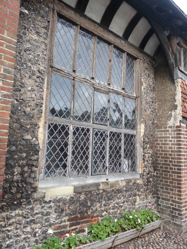 Windows of 15th Century Anne of Cleves House, Lewes, Sussex (c) Sherri Matthews 2014