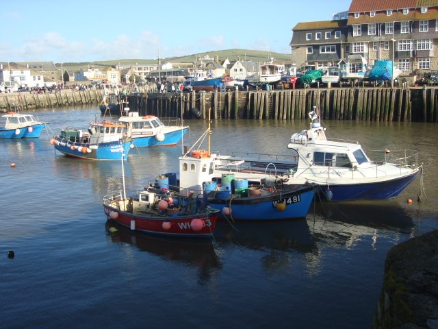 West Bay Harbour, Dorset (c) Sherri Matthews 2014