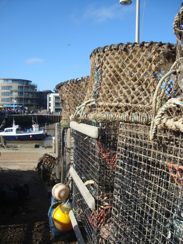 Crab Pots, West Bay (c) Sherri Matthews 2014