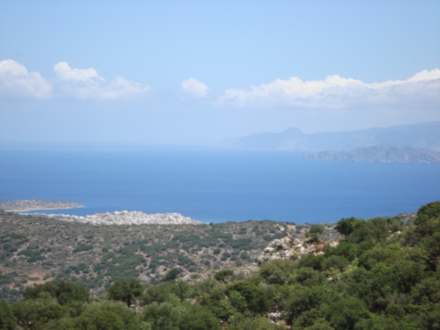 View of of the Libyan Sea, Crete (c) Sherri Matthews 2014