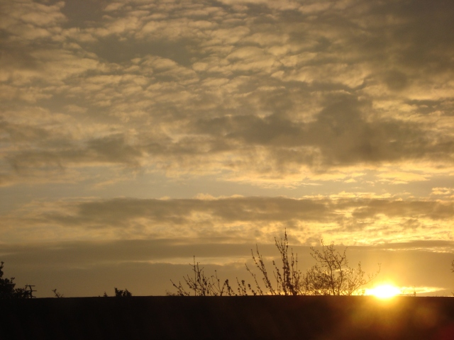 Somerset Sunrise in the Spring (c) Sherri Matthews 2014