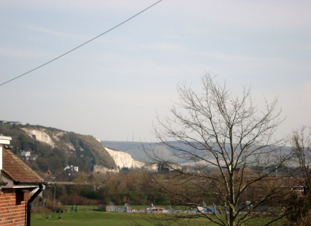 The South Downs, Lewes