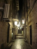 Lanterns in alleyways