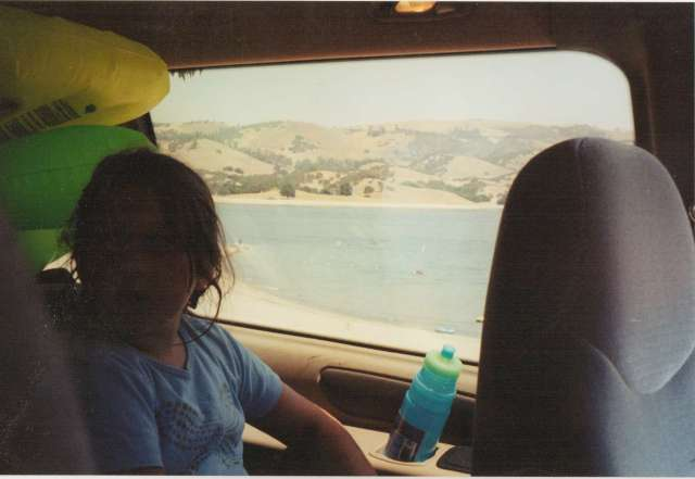 Aspie D on Holiday Mount Shasta, California, 1990's (c) Sherri Matthews 2014