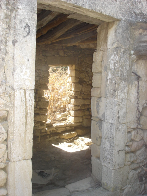 Ancient Venetian Villa, Crete.  What stories can be told from this room? (c) copyright Sherri Matthews