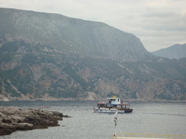 Ferry to Lokrum Island, Croatia (c) Sherri Matthews 2014