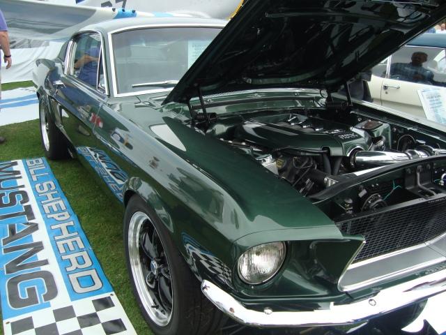 Replica of the Ford Mustang GT in Steve McQueen's move 'Bullitt'. (c) Sherri Matthews 2014