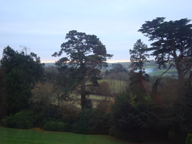 Room With A View.  Taken from the top room at the Pencubbitt Country House Looe Cornwall, November 2013 (c) Sherri Matthews