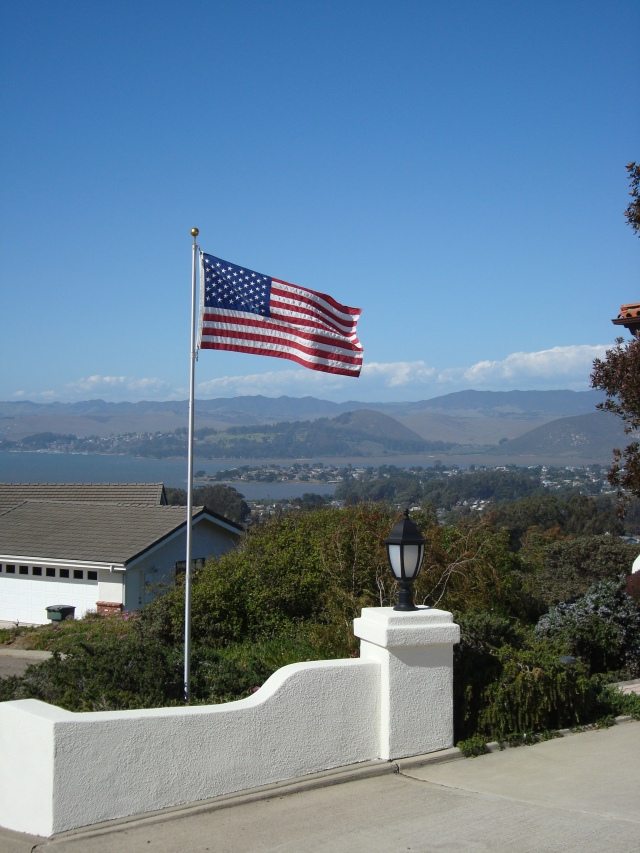 View  of overlooking the hills of Los Osos, California, Spring 2013.  (c) Sherri Matthews 2014