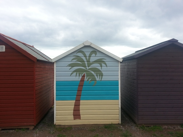 Somebody must have enjoyed painting this creation... Budleigh Salterton, Devon (c) Sherri Matthews 2014