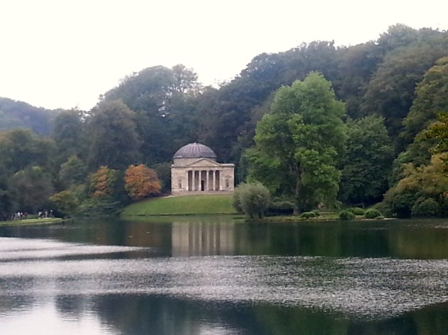 The Pantheon, Stourhead, England Built in 1753 and modelled on The Pantheon in Rome, it was described in 1762 by Horace Walpole as having few rivals 'in magnificence, taste and beauty'. (c) Sherri Matthews 2014