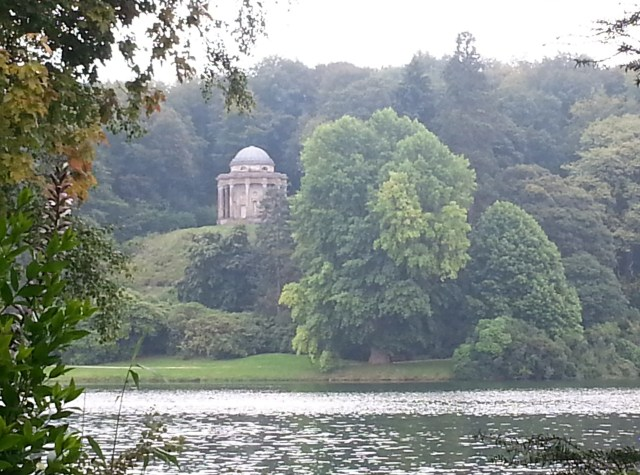 View of The Temple of Apollo, Stourhead - used in the film Pride & Prejudice.   I'm sure that Henry Flitcroft, who built the temple in 1765, had no idea how famous his creation would become centuries later. (c) Sherri Matthews 2014 (c) Sherri Matthews 2014