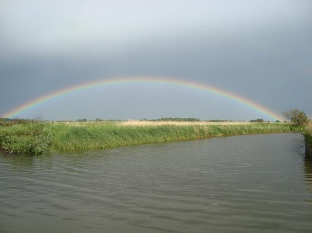 Rainbow over the River Bure, Norfolk Broads, June 2013 (c) Sherri Matthews
