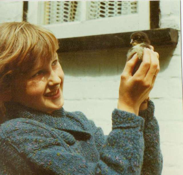 One Crazy Chick - Suffolk, 1970's (c) Sherri Matthews