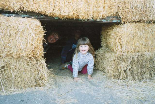 Kids love Haystacks CA 1990s (c) Sherri Matthews