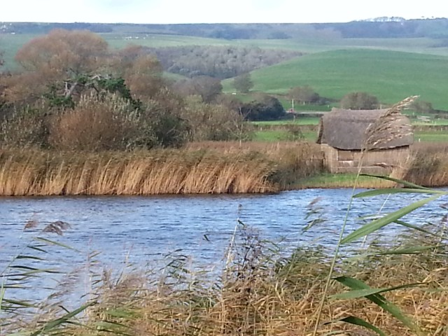 Fleet Lagoon and Dorset countryside (c) Sherri Matthews 2014