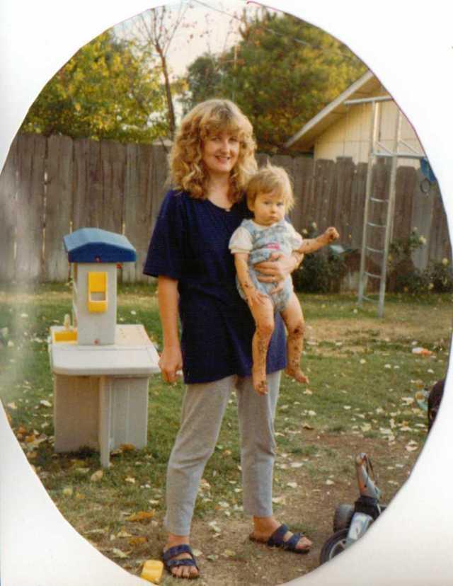 Me & Aspie D - California 1993 (c) Sherri Matthews