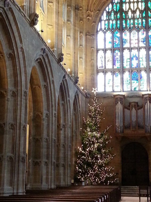 I like to think it is as perfect as it can ever be when I take in sights such as the Christmas beauty of Sherborne Abbey (c) Sherri Matthews 2014