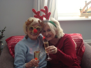 Christmas cheer with Mum  (c) Sherri Matthews 2014