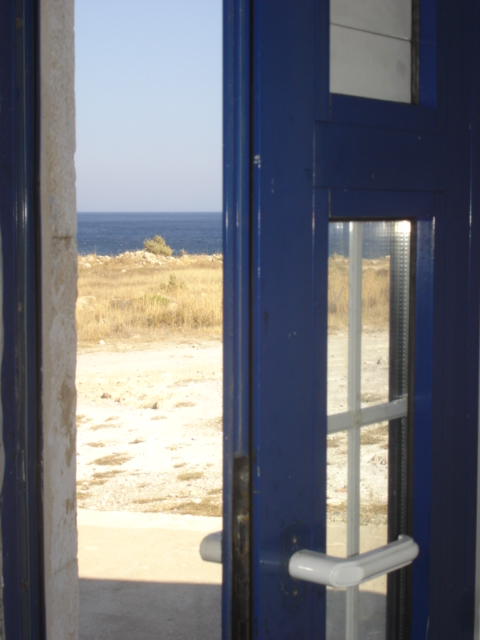 Blue Door - Blue Sea Crete (c) Sherri Matthews