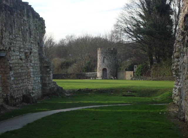 Old Priory Ruin, Lewes, Sussex  (c) Sherri Matthews 2015