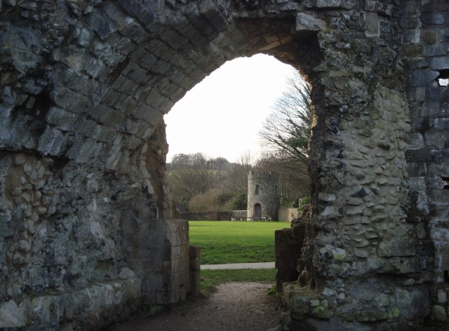 A view through an archway...what stories are buried in these ancient ruins? (c) Sherri Matthews 2015