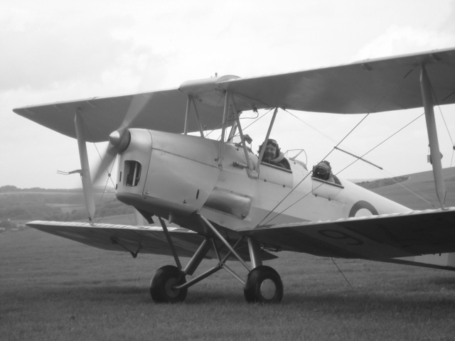 Safe landing for Hubby! (c) Sherri Matthews 2015