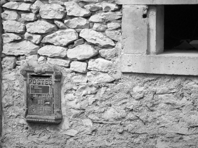French Post Box (c) Sherri Matthews