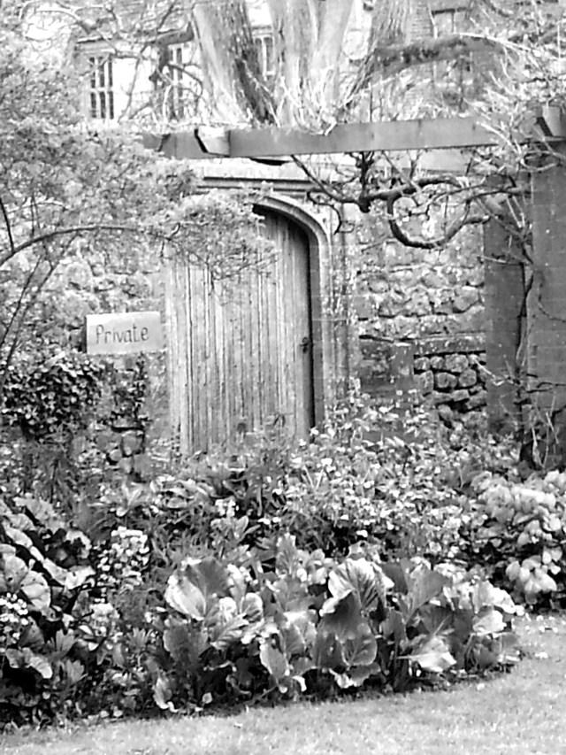 Door to the Secret Garden?  Perhaps. Barrington Court Easter 2014 (c) Sherri Matthews
