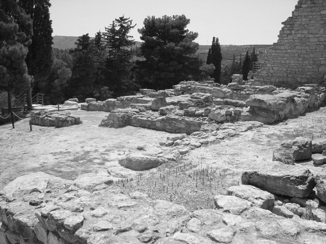 Ruined Walls of Knossos, Crete, 2012 (c) Sherri Matthews