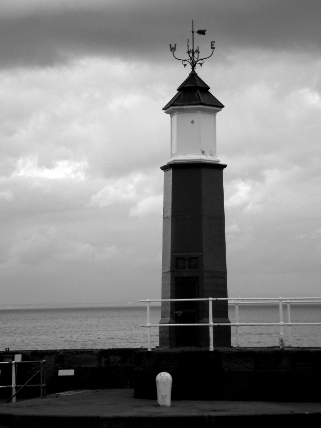 Lighthouse At Watchett Harbour, Somerset (c) Sherri Matthews 2015