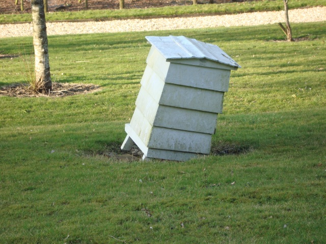 Crooked Bee Hive (c) Sherri Matthews