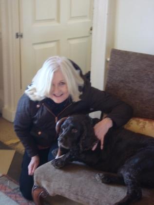 Me and my friend Oscar (c) Sherri Matthews April 2015