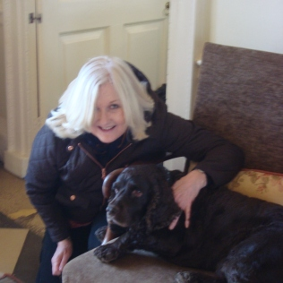 Me and my friend Oscar (c) Sherri Matthews April 2015