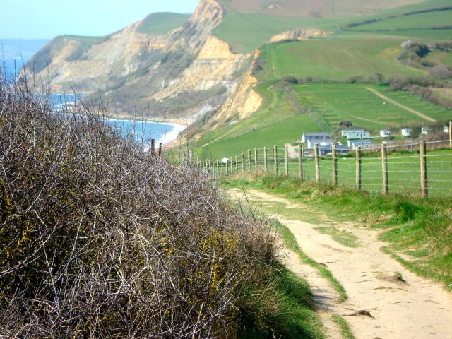 Coastal Walk between West Bay and Eype, Somerset, England April 2015 (c) Sherri Matthews