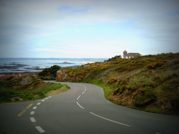 Take a drive - or walk, or bike or horse ride - with me along this delightful island of Jersey (c) Sherri Matthews 2015