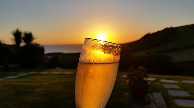 Glass of Golden Sunset (c) Sherri Matthews 2015