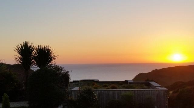 Devonshire Sunset - English Channel (c) Sherri Matthews 2015