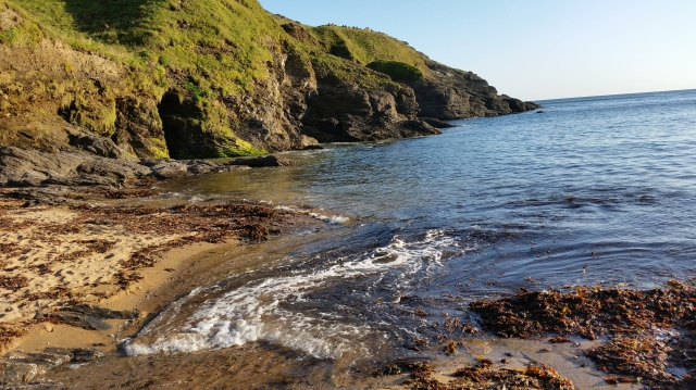 Gentle September Tide, Soar Cove, Devon (c) Sherri Matthews 2015