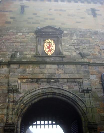 Entance to Edinburgh Castle, Scotland (c) Sherri Matthews