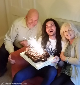 Nicky's Birthday Nov 2015