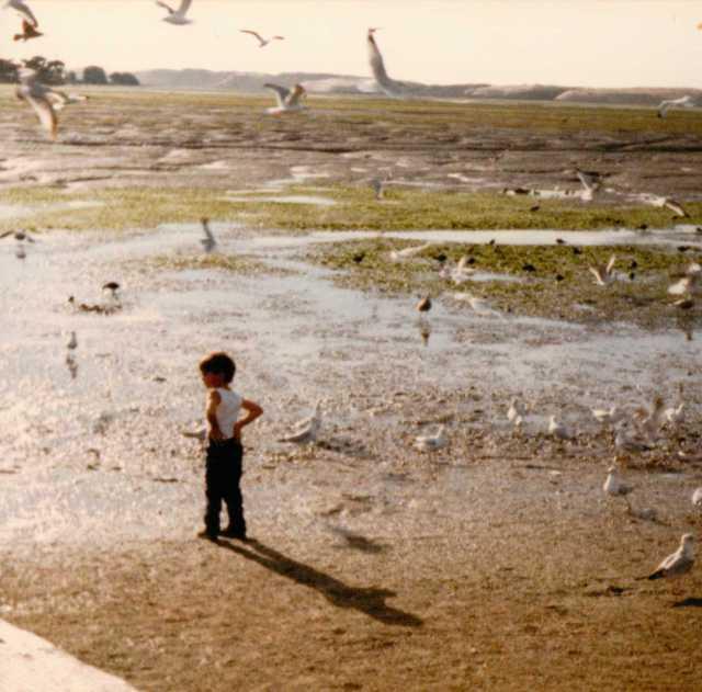 Which way to Walk? Many years ahead before high school graduation... Los Osos, California 1986 (c) Sherri Matthews