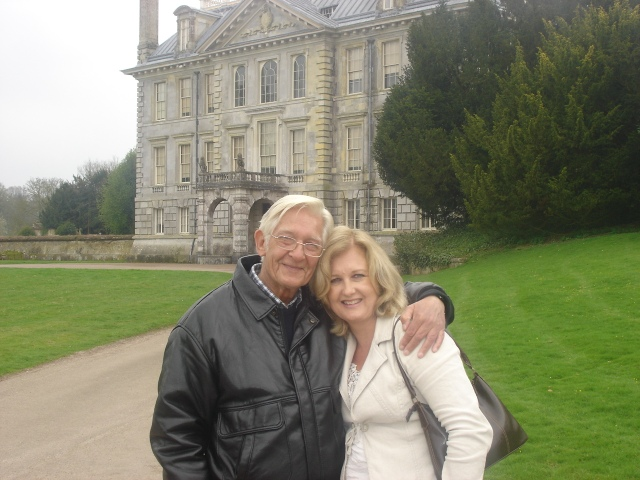 Me and Dad - a rare day out to Kingston Lacy, Dorset (c) Sherri Matthews